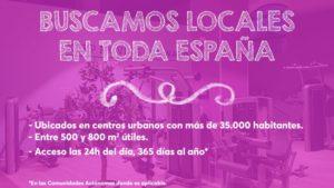 Buscamos locales en toda España